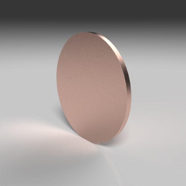 Copper sputtering target